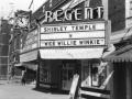 Regent Theatre Marquee - 1937